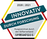 Gütesiegel Stifterverband für die Deutsche Wissenschaft